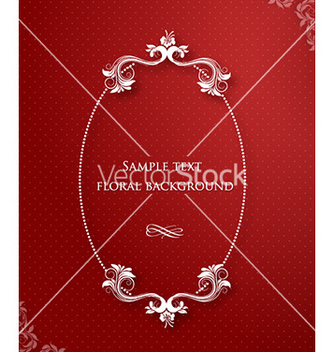 Free floral frame vector - Kostenloses vector #225107