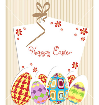 Free easter background vector - vector gratuit #225157