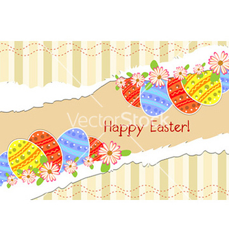 Free torn cardboard with eggs vector - vector #225207 gratis