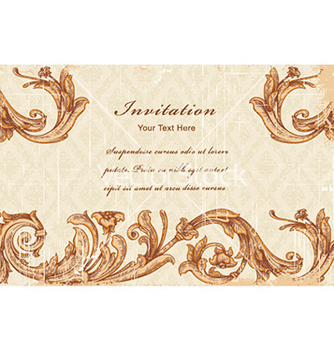 Free vintage background vector - vector #225467 gratis