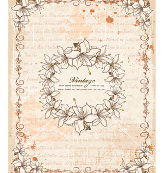 Free vintage frame vector - Free vector #225527