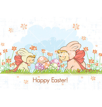 Free easter background vector - Free vector #225667