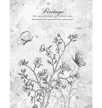Free vintage background vector - Free vector #225817