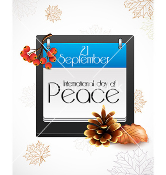 Free international day of peace vector - Kostenloses vector #225887