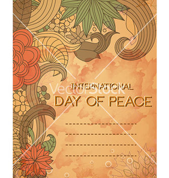Free international day of peace vector - Kostenloses vector #225947
