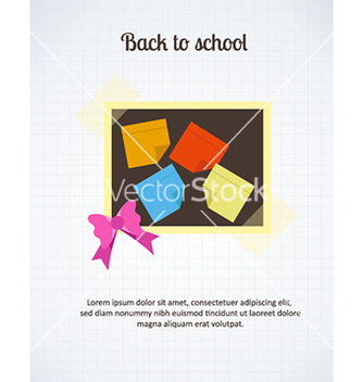 Free back to school vector - бесплатный vector #226067