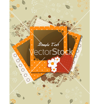 Free photo frames with grunge vector - Kostenloses vector #226537