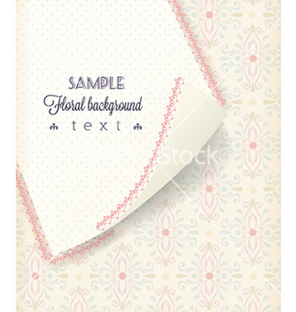 Free floral background vector - Free vector #226797