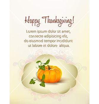 Free happy thanksgiving day with sticker vector - Free vector #227007