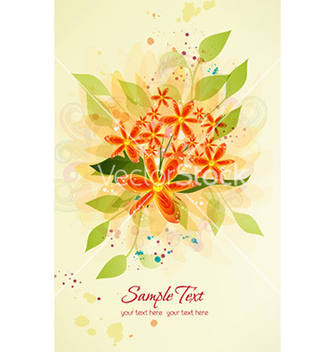 Free spring floral background vector - Free vector #227117