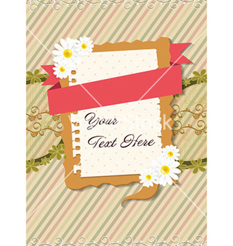Free frame with flowers vector - vector #227127 gratis