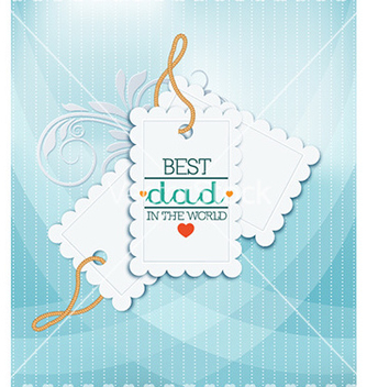Free fathers day vector - Free vector #227587