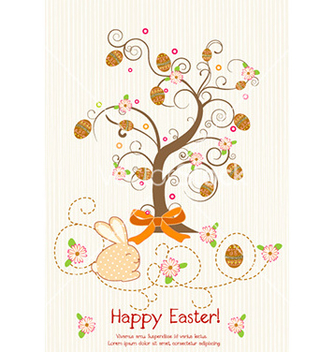 Free easter background vector - vector gratuit #227667