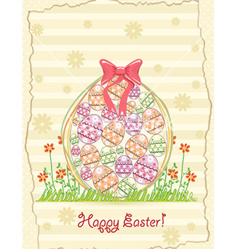 Free easter background vector - бесплатный vector #227717