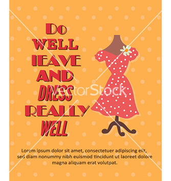 Free with dress vector - Free vector #227727