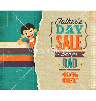 Free fathers day vector - Free vector #227787