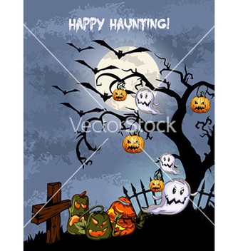 Free halloween background vector - Free vector #227857