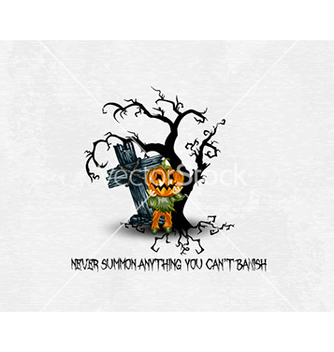 Free halloween background vector - vector gratuit #227967
