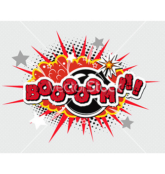 Free comic book explosion vector - бесплатный vector #227977
