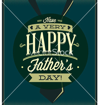 Free fathers day vector - Free vector #228047