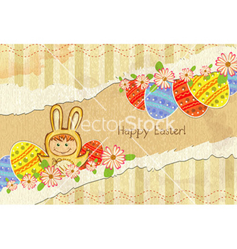 Free easter background vector - vector gratuit #228527