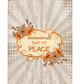 Free international day of peace vector - Kostenloses vector #228967
