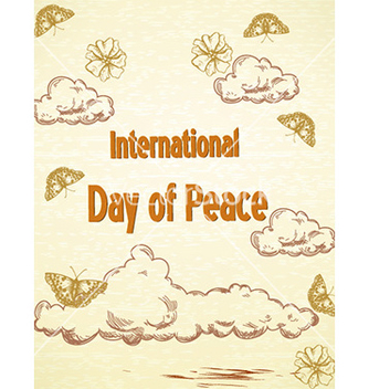 Free international day of peace vector - Kostenloses vector #229007
