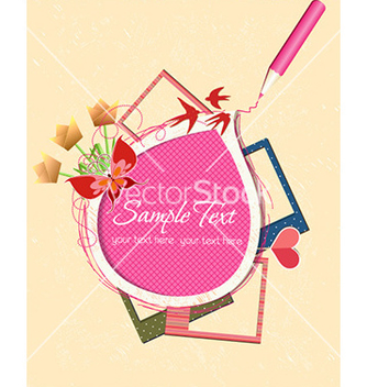Free abstract frame vector - Kostenloses vector #229907