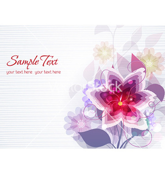 Free spring floral background vector - Free vector #230057