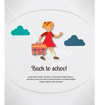 Free back to school vector - vector gratuit #230197