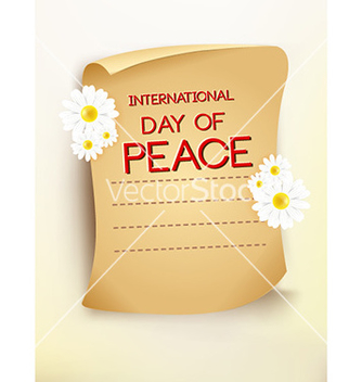 Free international day of peace vector - Kostenloses vector #230387