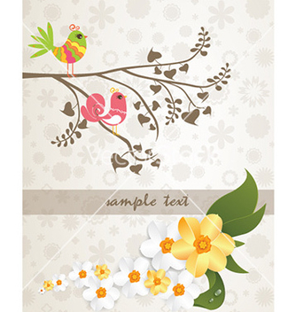 Free abstract floral background vector - Free vector #230647