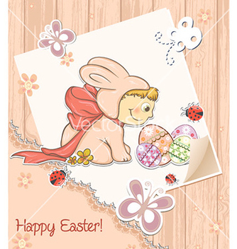Free easter background vector - Kostenloses vector #230757