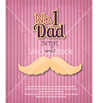 Free fathers day vector - Free vector #230847