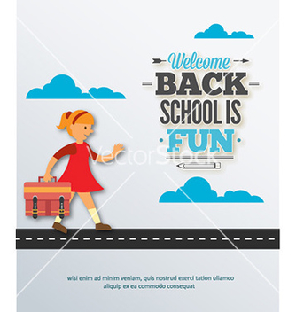 Free back to school vector - vector gratuit #230857