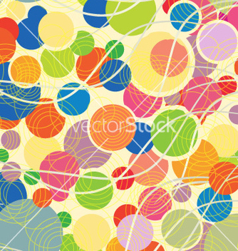 Free colorful pattern with geometric shapes vector - vector #231017 gratis
