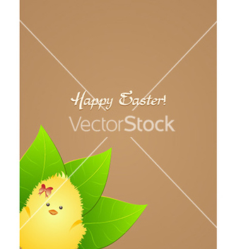 Free bird with leaves vector - vector gratuit #231247
