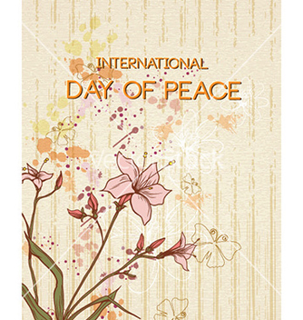 Free international day of peace vector - Kostenloses vector #231567