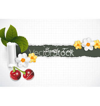 Free spring background vector - Kostenloses vector #231597