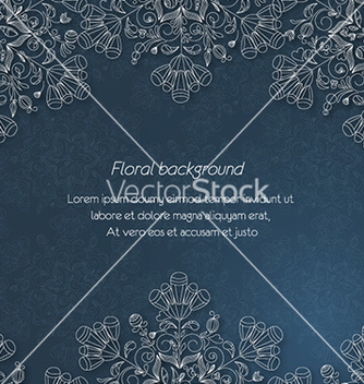 Free floral background vector - Kostenloses vector #231847