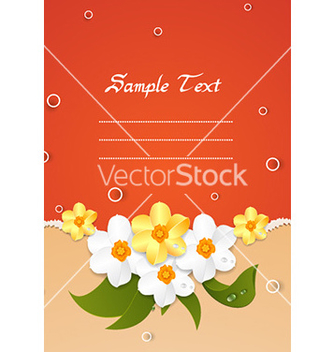 Free spring floral background vector - Kostenloses vector #231857