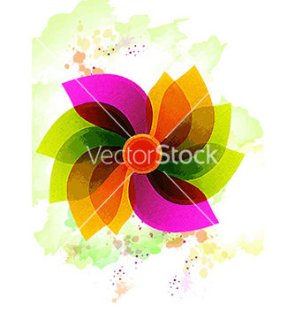 Free watercolor background vector - vector #231907 gratis