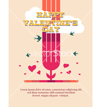Free happy valentines day vector - vector #232237 gratis