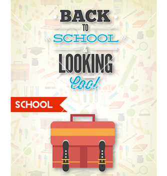 Free back to school vector - бесплатный vector #232327