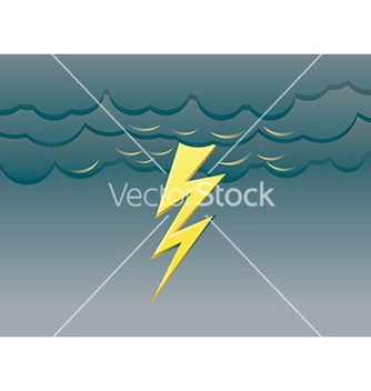 Free lightning background vector - Free vector #232617