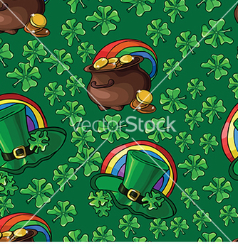 Free pattern with a hat and a pot of money vector - бесплатный vector #233027