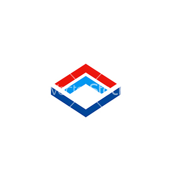 Free cube construction technology business logo vector - бесплатный vector #233067