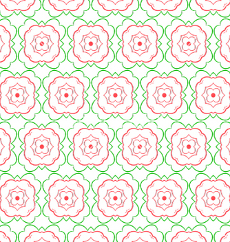 Free floral abstract seamless pattern vector - Free vector #233257
