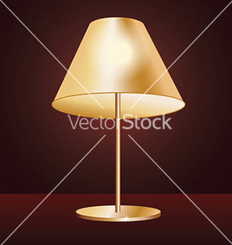 Free realistic lampshade in dark red background vector - Free vector #233577