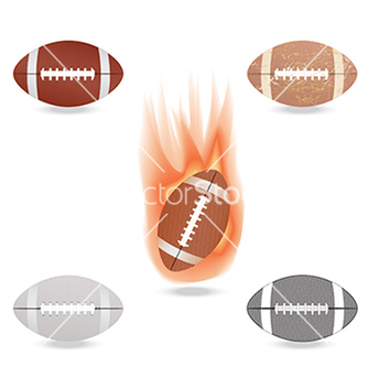Free football vector - vector gratuit #233587